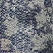 Netz, elastisch, Polyester,  20144-24, schwarz-golden