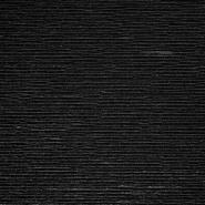 Saten, plise, 19885-999, crna