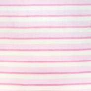 Velours, Coral, beidseitig, Streifen, 20170-4, rosa