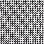 Pletivo, gusto, pepita, 20123-5, crno-bijela