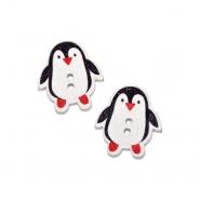 Gumb, drvo, pingvin, 19303-021