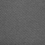 Wirkware, dicker, geometrisch, 19215-10, grau