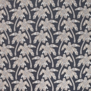 Sweatshirtstoff, flauschig, Natur, 19215-16, grau - Bema Stoffe