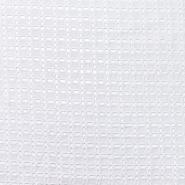 Pamuk, rišelje, geometrijski, 20188-8, bijela - Svijet metraže