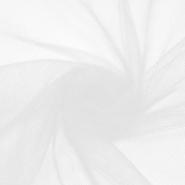 Tüll, weich, matt, 20190-2, weiß