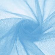 Tüll, weich, matt, 20190-18, hellblau