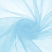 Tüll, weich, glänzend, 20189-36, hellblau