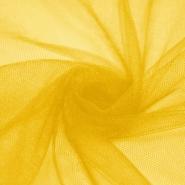 Tüll, weich, glänzend, 20189-2518, gelb