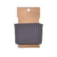 Bündchen, 70 mm, 20008-063, grau