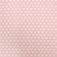 Pamuk, popelin, retro, 20197-2, ružičasta