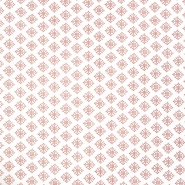 Pamuk, popelin, retro, 20202-2, smeđa