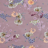 Jersey, Baumwolle, floral, 20204-4723, rosa