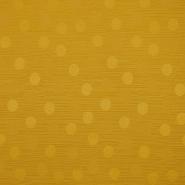 Otoman, žakard, 4146-307, zlatno-narančasta