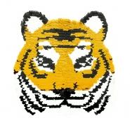 Aufnäher, Pailletten, 19975-32212, Tiger - Bema Stoffe