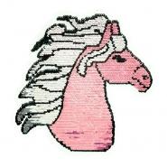 Aufnäher, Pailletten, 19975-32210, Pferd