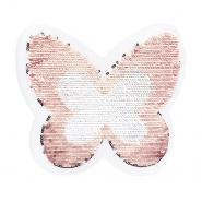 Prišivak, šljokice, 19975-32205, leptir
