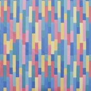 Umjetna koža Digital, geometrijski, 19388-447
