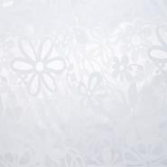 Damast, cvjetni, 20213-3, bijela