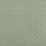 Deko žakard, geometrijski, 20214-400, zelena