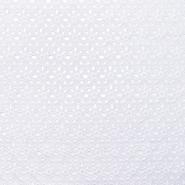 Pamuk, rišelje, cvjetni, 20188-4, bijela - Svijet metraže