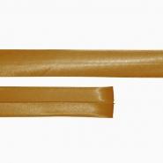 Obrubna traka, saten, 15644-4576, smeđa