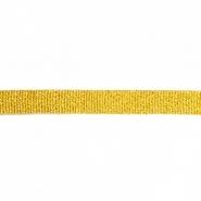 Band, Lamé, 5 mm, 15469-1, gold