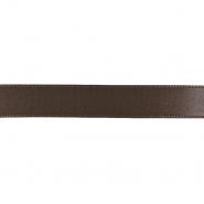 Traka, saten, 15 mm, 15459-1103, smeđa