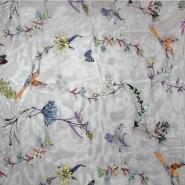 Čipka, elastična, cvjetni, 20221-001