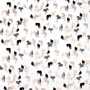 Šifon krep, poliester, životinjski, 20232-051