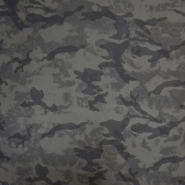 Kunstleder, für Kleidung, Tarnmuster, 20386-001, grün
