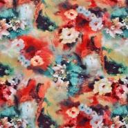 Jersey, Viskose, floral, 20391-005