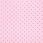 Jersey, pamuk, točke, 20399-002, ružičasta