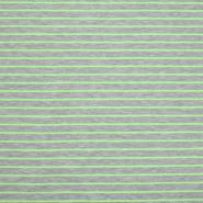 Jersey, črte, 20414-001, neon zelena