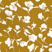 Gewebe, dünn, floral, 20416-002