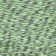 Wirkware, dünner, Baumwolle, Melange, 20520-023, grün