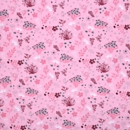 Jersey, Baumwolle, floral, 20530-012