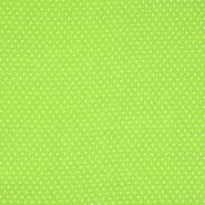 Gewebe, Viskose, Punkte, 20534-023, grün - Bema Stoffe