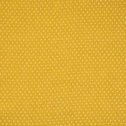Gewebe, Viskose, Punkte, 20534-034, gelb