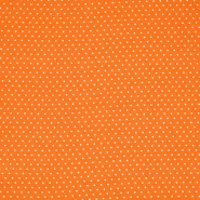 Gewebe, Viskose, Punkte, 20534-036, orange