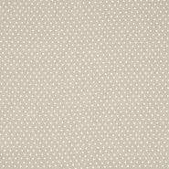 Gewebe, Viskose, Punkte, 20534-052, beige