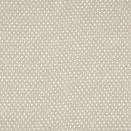 Tkanina, viskoza, točkice, 20534-052, bež
