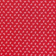 Jersey, Viskose, Meer, 20541-015, rot