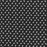 Jersey, Viskose, Meer, 20541-069, schwarz