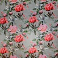 Tkanina, tanja, cvjetni, 20551-052
