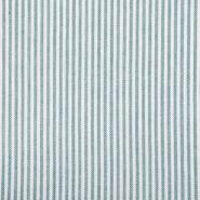 Leinen, Viskose, Streifen, 20555-022, grün