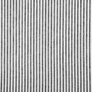 Leinen, Viskose, 20555-069, schwarz