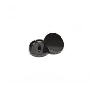 Gumb, kovinski, bombica, 13mm, 20431-105, črna