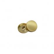 Gumb, kovinski, bombica, 13mm, 20431-109, zlata