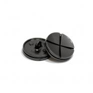 Gumb, kovinski, bombica, 20mm, 20435-105, temno srebrna