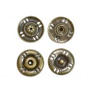 Pritiškači, prišivni, 18mm, 20452-102, staro zlato